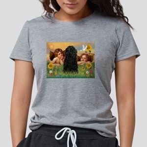 Angels & Puli Womens Tri-blend T-Shirt