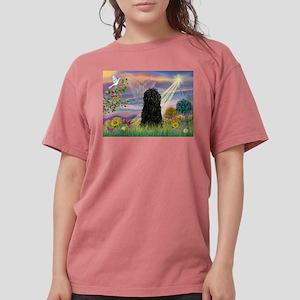 Cloud Angel & Puli Womens Comfort Colors Shirt