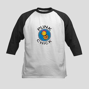 Punk Chick Kids Baseball Jersey