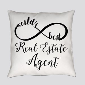 World's Best Real Estate Agent Everyday Pillow