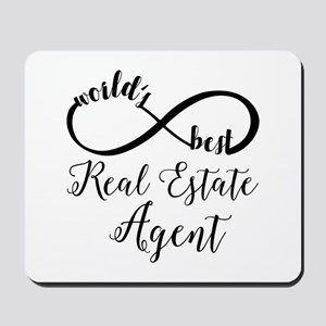 World's Best Real Estate Agent Mousepad