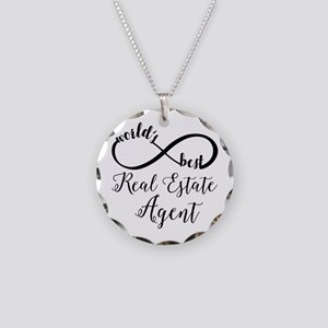 World's Best Real Estate Age Necklace Circle Charm