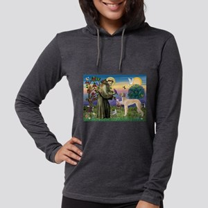 St. Francis & Saluki Womens Hooded Shirt
