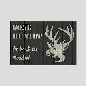 GONE HUNTIN' Magnets