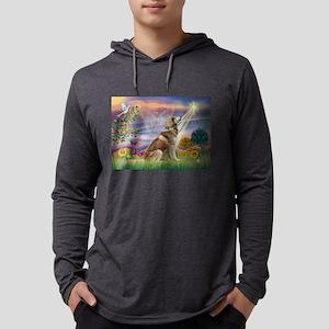 Cloud Angel & Husky Mens Hooded Shirt