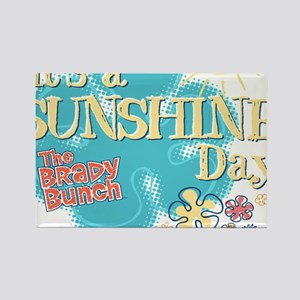 The Brady Bunch: Sunshine Day Rectangle Magnet