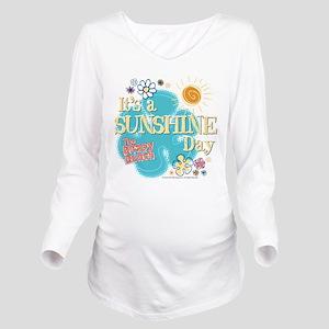 The Brady Bunch: Sun Long Sleeve Maternity T-Shirt