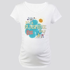 The Brady Bunch  Sunshine Day Maternity T-Shirt 66cf3c233