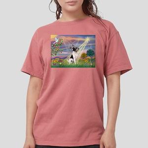 Cloud Angel /Toy Fox Terrier Womens Comfort Colors