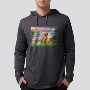 Cloud Angel / Vizsla Mens Hooded Shirt