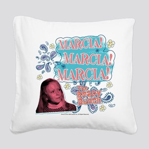 The Brady Bunch: Marcia! Square Canvas Pillow