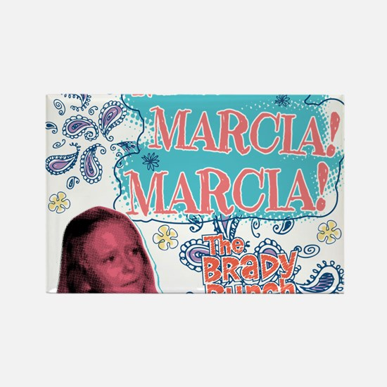 The Brady Bunch: Marcia! Rectangle Magnet