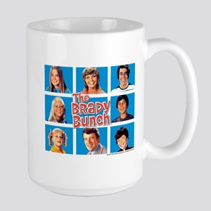 The Brady Bunch Grid Large Mug