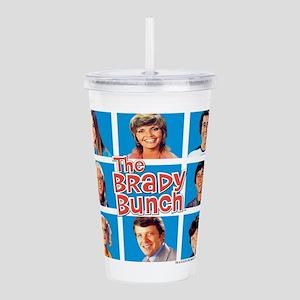 The Brady Bunch Grid Acrylic Double-wall Tumbler