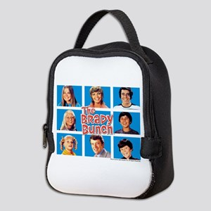 The Brady Bunch Grid Neoprene Lunch Bag