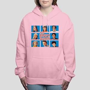 The Brady Bunch Grid Women's Hooded Sweatshirt