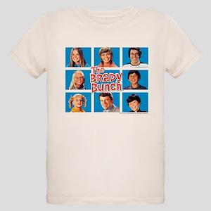 The Brady Bunch Grid Organic Kids T-Shirt