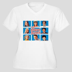 The Brady Bunch G Women's Plus Size V-Neck T-Shirt