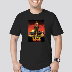 Ghost Rider Car Men's Fitted T-Shirt (dark)