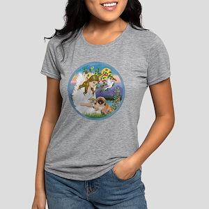 Angel Loving Sassy Womens Tri-blend T-Shirt