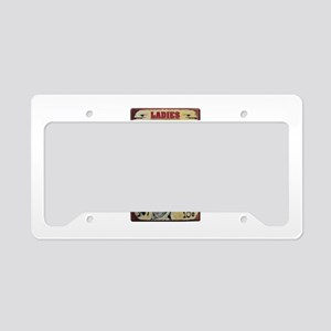 Shady Lady Saloon License Plate Holder