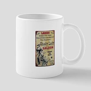 Shady Lady Saloon Mugs