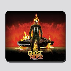 Ghost Rider Car Mousepad