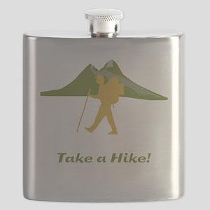 Hiker Mountain Flask