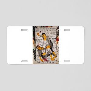 Streeet Art Aluminum License Plate