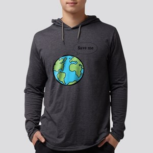 Save the world shirt Mens Hooded Shirt