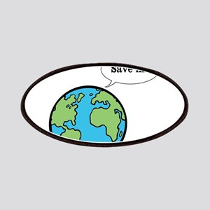 Save the world shirt Patch