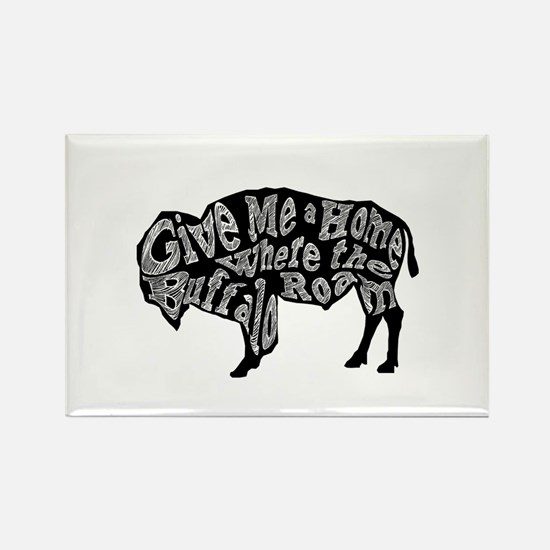 Give Me a Home Buffalo Roam Magnets