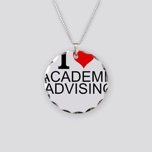 I Love Academic Advising Necklace