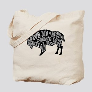 Give Me a Home Buffalo Roam Tote Bag