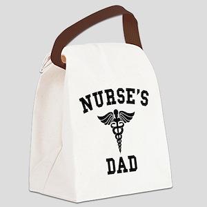 Nurse's Dad Canvas Lunch Bag