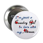 Country Gal Air Force Love 2.25