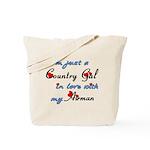 Country Gal Air Force Love Tote Bag