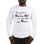 Country Gal Air Force Love Long Sleeve T-Shirt