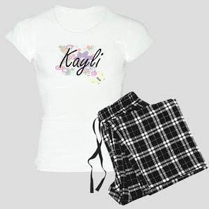 Kayli Artistic Name Design Women's Light Pajamas