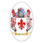 Morden Sticker (Oval 50 pk)