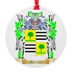 Morales Round Ornament