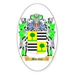 Morales Sticker (Oval 10 pk)