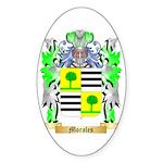Morales Sticker (Oval 50 pk)
