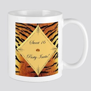 Tiger Sweet 16 Birthday Mugs
