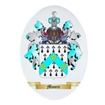 Moore England Oval Ornament
