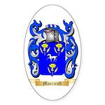 Moorcroft Sticker (Oval)