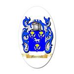 Moorcroft 20x12 Oval Wall Decal