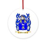 Moorcroft Round Ornament