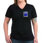 Moorcraft Women's V-Neck Dark T-Shirt