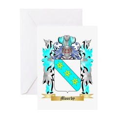 Moorby Greeting Card